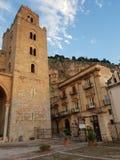 καθεδρικός ναός cefal στοκ εικόνες