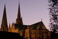 καθεδρικός ναός Chartres Στοκ φωτογραφίες με δικαίωμα ελεύθερης χρήσης