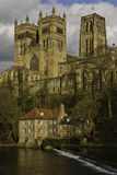 καθεδρικός ναός Durham Στοκ φωτογραφία με δικαίωμα ελεύθερης χρήσης