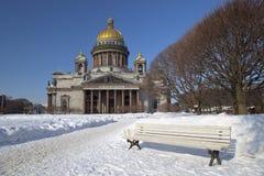 καθεδρικός ναός Isaac s ST Στοκ φωτογραφία με δικαίωμα ελεύθερης χρήσης