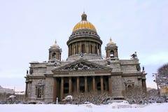 καθεδρικός ναός Isaac ST Στοκ φωτογραφία με δικαίωμα ελεύθερης χρήσης