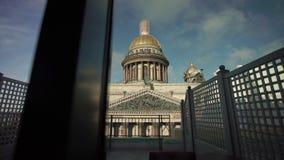 Καθεδρικός ναός Isaacs στην Άγιος-Πετρούπολη φιλμ μικρού μήκους