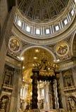 καθεδρικός ναός Peter ST Βατικανό Στοκ εικόνες με δικαίωμα ελεύθερης χρήσης