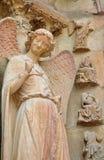καθεδρικός ναός Reims Στοκ εικόνα με δικαίωμα ελεύθερης χρήσης