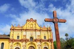 Καθεδρικός ναός SAN Cristobal de las Casas, Chiapas, Μεξικό Στοκ φωτογραφία με δικαίωμα ελεύθερης χρήσης