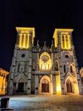 Καθεδρικός ναός SAN Fernando στο στο κέντρο της πόλης San Antonio Τέξας Στοκ φωτογραφία με δικαίωμα ελεύθερης χρήσης
