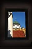 Καθεδρικός ναός Sava Sveti σε Βελιγράδι Στοκ φωτογραφία με δικαίωμα ελεύθερης χρήσης