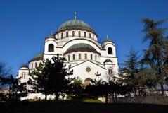 Καθεδρικός ναός Sava Sveti σε Βελιγράδι Στοκ Εικόνες