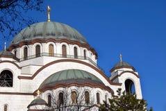 Καθεδρικός ναός Sava Sveti σε Βελιγράδι Στοκ φωτογραφίες με δικαίωμα ελεύθερης χρήσης