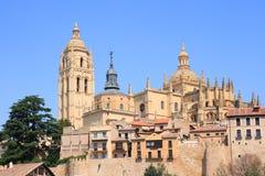 καθεδρικός ναός segovia Ισπανία στοκ φωτογραφίες
