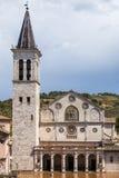 Καθεδρικός ναός Spoleto Στοκ Φωτογραφία