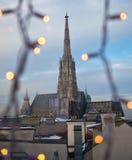καθεδρικός ναός ST Stephan Βιέννη τ& Στοκ Εικόνα