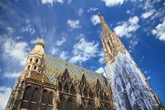 καθεδρικός ναός ST Stephan Βιέννη Στοκ φωτογραφία με δικαίωμα ελεύθερης χρήσης