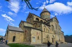 Καθεδρικός ναός Svetitskhoveli Mtskheta, Γεωργία στοκ εικόνες με δικαίωμα ελεύθερης χρήσης