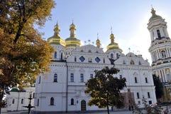 Καθεδρικός ναός UspeUspensky στο Κίεβο Pechersk Lavra, Στοκ Φωτογραφία