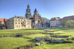 Καθεδρικός ναός Wawel Στοκ Εικόνα
