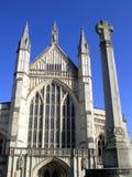 καθεδρικός ναός Winchester Στοκ εικόνες με δικαίωμα ελεύθερης χρήσης
