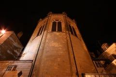 Καθεδρικός ναός Άγιος-Maurice τη νύχτα, Angers στη Γαλλία Στοκ Εικόνες