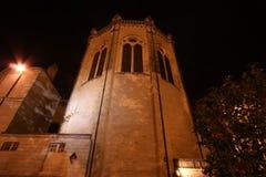 Καθεδρικός ναός Άγιος-Maurice τη νύχτα, Angers στη Γαλλία Στοκ εικόνα με δικαίωμα ελεύθερης χρήσης