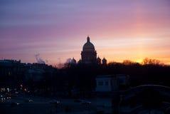 Καθεδρικός ναός ή Isaakievskiy Sobor Αγίου Isaac σε Άγιο Πετρούπολη, Ρωσία Στοκ φωτογραφίες με δικαίωμα ελεύθερης χρήσης