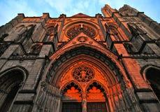 Καθεδρικός ναός Αγίου John ο θείος στα ύψη Morningside, NYC στοκ φωτογραφίες