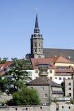Καθεδρικός ναός Αγίου Peter από το Bautzen στη Γερμανία Στοκ φωτογραφία με δικαίωμα ελεύθερης χρήσης