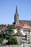 Καθεδρικός ναός Αγίου Peter από το Bautzen στη Γερμανία Στοκ Εικόνα