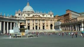 Καθεδρικός ναός Αγίου Peter απόθεμα βίντεο