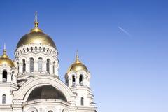 """Καθεδρικός ναός ανάβασης στο Novocherkassk/Ð'Ð ¾ зР½ ÐΜÑ  ÐΜÐ ½ Ñ  киР¹ ÐºÐ°Ñ """"ÐΜÐ'рал ьР½ Ñ ‹Ð ¹ Ñ  Ð ¾ бР¾ Ñ€ Ð  Στοκ εικόνες με δικαίωμα ελεύθερης χρήσης"""