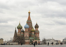 Καθεδρικός ναός βασιλικών της Μόσχας Άγιος Στοκ εικόνα με δικαίωμα ελεύθερης χρήσης