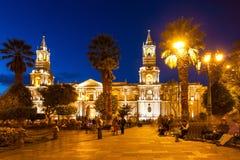 Καθεδρικός ναός βασιλικών, Arequipa Στοκ Φωτογραφίες