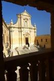 Καθεδρικός ναός Βικτώριας, Gozo στοκ φωτογραφία