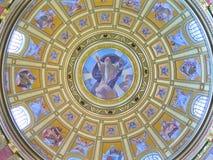 Καθεδρικός ναός Βουδαπέστη, Ουγγαρία του ST Stephens Στοκ φωτογραφία με δικαίωμα ελεύθερης χρήσης