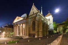 καθεδρικός ναός Γενεύη Στοκ Φωτογραφίες