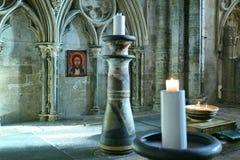 καθεδρικός ναός εσωτερ&i Στοκ Φωτογραφίες