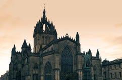 Καθεδρικός ναός Εδιμβούργο του ST Giles Στοκ φωτογραφία με δικαίωμα ελεύθερης χρήσης