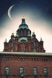 καθεδρικός ναός Ελσίνκι u Στοκ Εικόνα