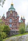 Καθεδρικός ναός Ελσίνκι Uspenski Στοκ φωτογραφία με δικαίωμα ελεύθερης χρήσης