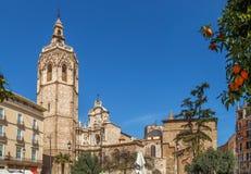 καθεδρικός ναός Ισπανία Β& Στοκ Εικόνα