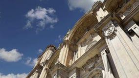 Καθεδρικός ναός καθεδρικών ναών της Γρανάδας της ενσάρκωσης στο γοτθικό και ισπανικό ύφος αναγέννησης, Ανδαλουσία, Ισπανία απόθεμα βίντεο