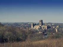 Καθεδρικός ναός και Castle Durham Στοκ Εικόνες