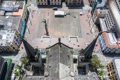 Καθεδρικός ναός και Plaza de Bolivar Στοκ Εικόνα