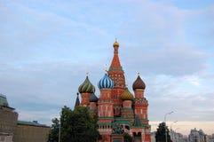 καθεδρικός ναός Μόσχα το κόκκινο s τετραγωνικό ST βασιλικού στοκ εικόνες