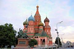 καθεδρικός ναός Μόσχα το κόκκινο s τετραγωνικό ST βασιλικού στοκ εικόνα με δικαίωμα ελεύθερης χρήσης