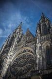 Καθεδρικός ναός Πράγα του ST Vit Στοκ εικόνα με δικαίωμα ελεύθερης χρήσης