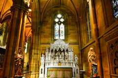 Καθεδρικός ναός Σίδνεϊ του ST Marys Στοκ φωτογραφία με δικαίωμα ελεύθερης χρήσης