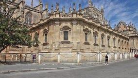 καθεδρικός ναός Σεβίλη απόθεμα βίντεο