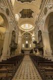 Καθεδρικός ναός σε Sulmona, Abruzzo, Ιταλία Στοκ φωτογραφία με δικαίωμα ελεύθερης χρήσης