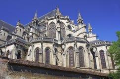 Καθεδρικός ναός σε Troyes Στοκ φωτογραφία με δικαίωμα ελεύθερης χρήσης