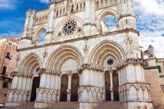 Καθεδρικός ναός στην πόλη Cuenca, επαρχία Cuenca, Καστίλλη-Λα Mancha Στοκ Εικόνα